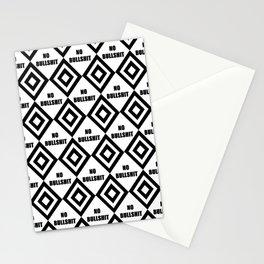 no bullshit -rebel,wild,prohibition,crap,mierda. Stationery Cards