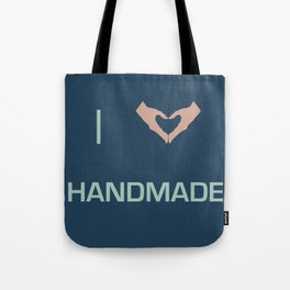 I heart Handmade Tote Bag