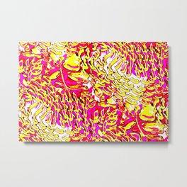 this print's bananas Metal Print