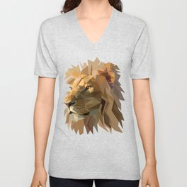King of the jungle Unisex V-Neck