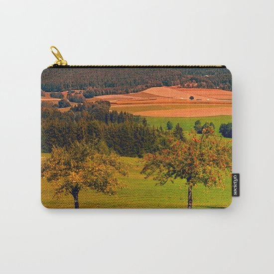 Two rival trees Carry-All Pouch