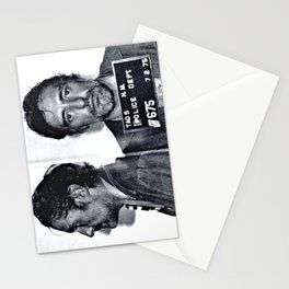 Hopper, Dennis Mugshot - (1975) Taos, N.M. Stationery Cards