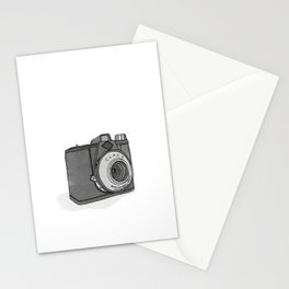 Vintage Analog Camera - Agfa Clack (B&W Edition) Stationery Cards