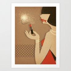 Dynamite Art Print