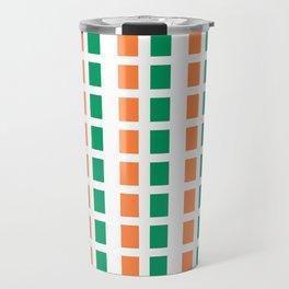 flag of ireland 2-ireland,eire,airlann,irish,gaelic,eriu,celtic,dublin,belfast,joyce,beckett Travel Mug