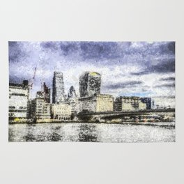 City of London Art Rug