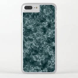 Creative graphic pattern. Marble. Clear iPhone Case