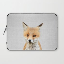 Baby Fox - Colorful Laptop Sleeve