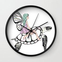 Fairy/ Turtle Wall Clock