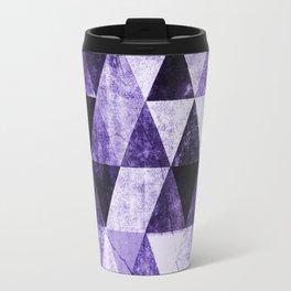 Abstract #975 Ultraviolet Travel Mug