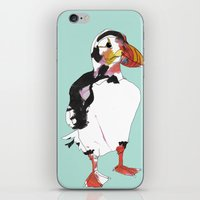 puffin iPhone & iPod Skins featuring Puffin by caseysplace