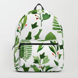 green nature plants Backpack