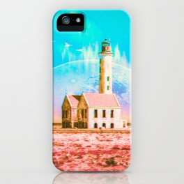 Cosmic Synchronicity iPhone Case