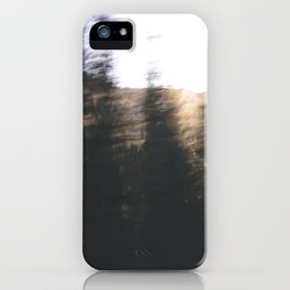 Trees Are Fast iPhone Case