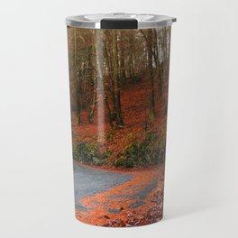 The Orange Forest Travel Mug