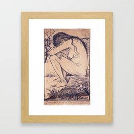 Vincent van Gogh - Sorrow (1882) Framed Art Print