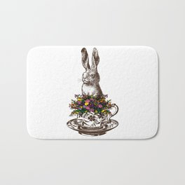 Rabbit in a Teacup Bath Mat