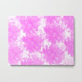 Distorted Floral  Metal Print