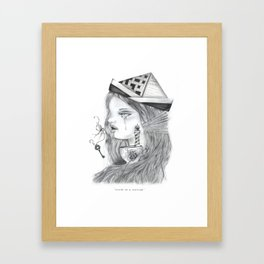 Storm in a tearcup Framed Art Print