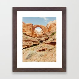 Rainbow Bridge Framed Art Print