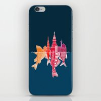 copenhagen iPhone & iPod Skins featuring Copenhagen by CAB Architects