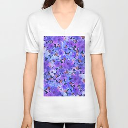 Lavender Blues Unisex V-Neck
