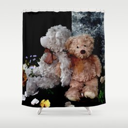 Teddy Bear Buddies Shower Curtain
