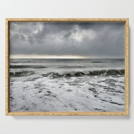 Stormy Sea Serving Tray