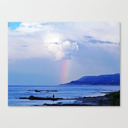 Love under the Rainbow Canvas Print