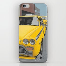 Taxi Stand version 2 iPhone Skin