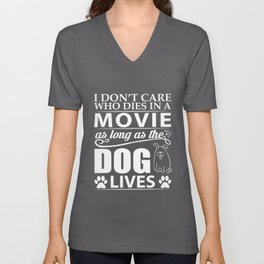 Movie Dog Unisex V-Neck