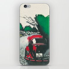 Red Beetle iPhone & iPod Skin