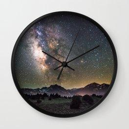 Milky Way, USA Wall Clock