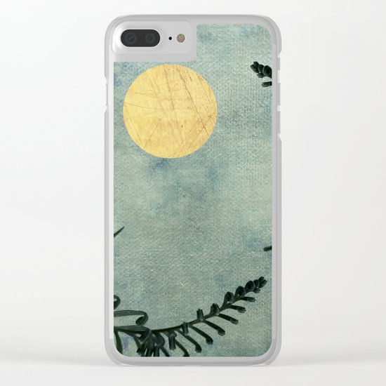 Cycas III Clear iPhone Case