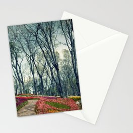 tulip park Stationery Cards