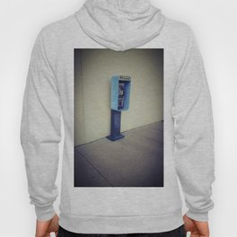 Vintage Pay Phone Photograph Hoody