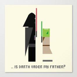 Vader meet Yoda Canvas Print