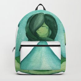 Tear Drop-Turquoise Backpack