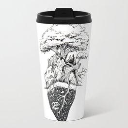 Nature Heart Travel Mug