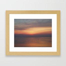 Rodanthe Sunset Framed Art Print