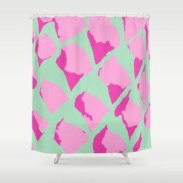 Pink Gumdrops Shower Curtain