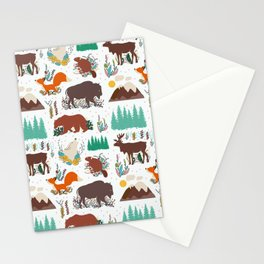 Canadian Wildlife Stationery Cards