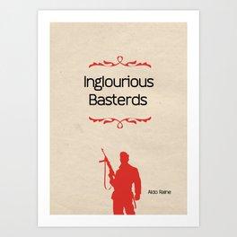 Minimalist poster Art Print