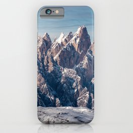 Sextener Dolomiten, Sexten Dolomites, Italien, Italy iPhone Case