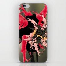 fleur les mot iPhone & iPod Skin
