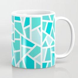 Turquoise Mosaic Coffee Mug
