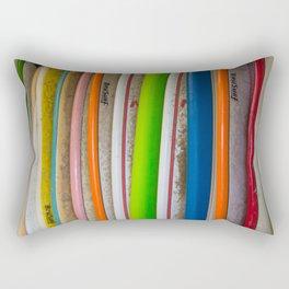 Surfboards For Rent Rectangular Pillow