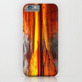 Huntington Beach Sunset 12/2/13 iPhone Case