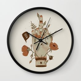 Love you but... Wall Clock