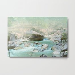 Emerald River Metal Print